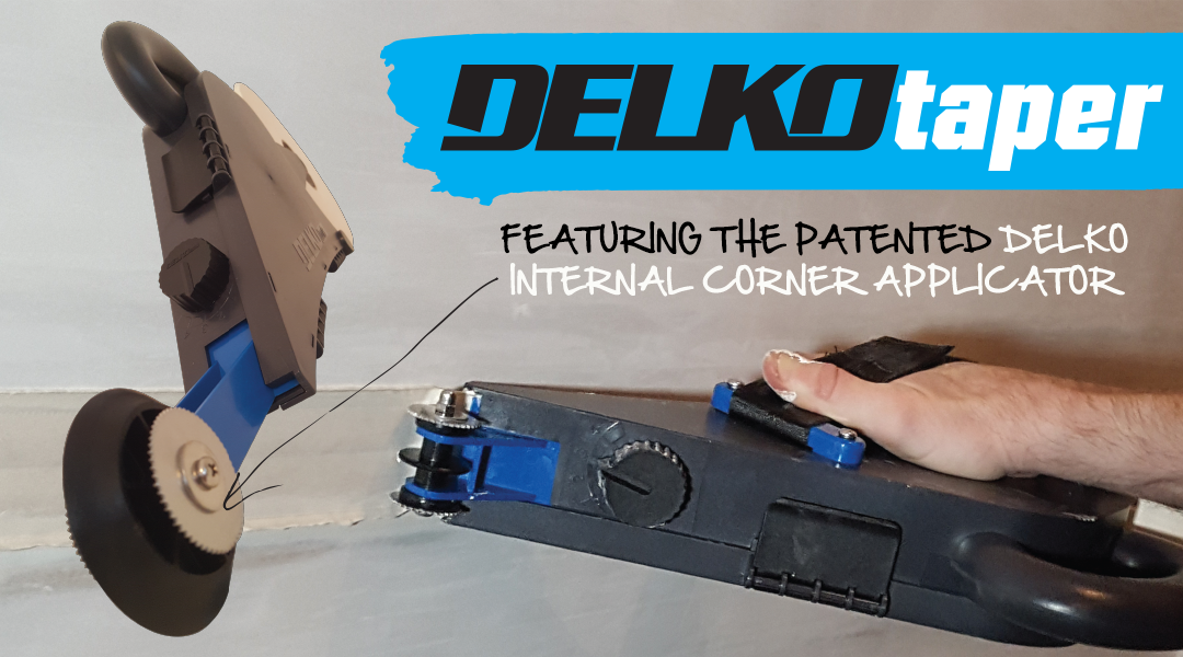 The Delko Taper - with the patented Delko Internal Corner Applicator